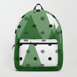 Christmas mountains Backpack