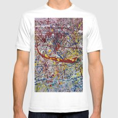 Paprika MEDIUM Mens Fitted Tee White