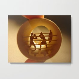 """Roll """"Boxing"""" (Rouleau """"Boxe"""") Metal Print"""