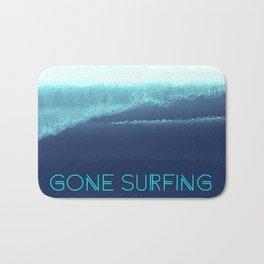 Gone Surfing Bath Mat