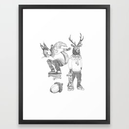 F*** your christmas Framed Art Print