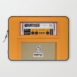Bright Orange color amplifier amp Laptop Sleeve