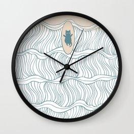 I-SEA-U 2 Wall Clock