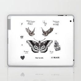 Tattoo à la Harry Laptop & iPad Skin