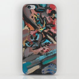 Different Viewpoints Modern Abstract Painting iPhone Skin