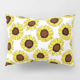 Sunflowers are the New Roses! - White Pillow Sham