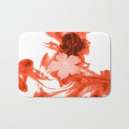 Water Flower Bath Mat