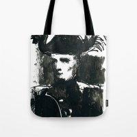 napoleon Tote Bags featuring napoleon by Chuchuligoff