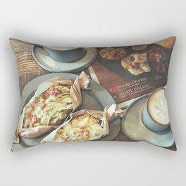 Brand new day Rectangular Pillow