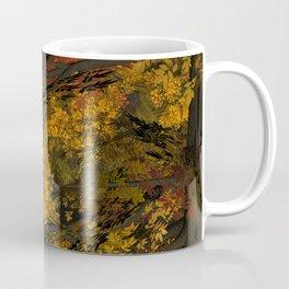 Autumn Leaves and Stream Coffee Mug
