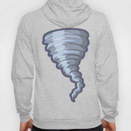 Cartoon Tornado Icon Hoody