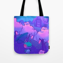 Midnight Lily Tote Bag