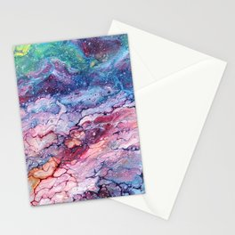 Rainbow Dream Groovy Flow #22 Stationery Cards
