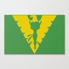 Phoenix Symbol Canvas Print