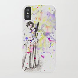 Princess Leia From Star Wars iPhone Case