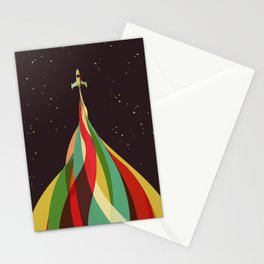 Kaleidoscope to the Stars Stationery Cards