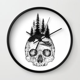 Flourishing Decay Wall Clock