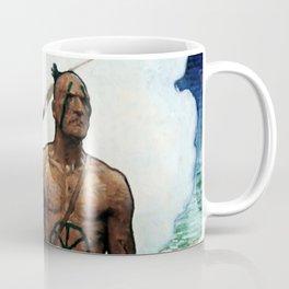 "N C Wyeth Western Painting ""The Mohican"" Coffee Mug"