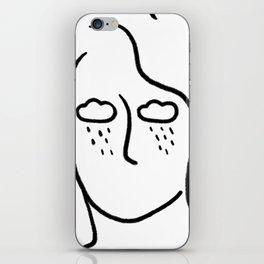 rainy soul iPhone Skin