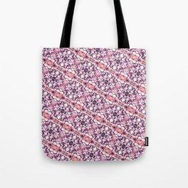 30 degree pink & purple Tote Bag