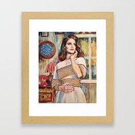 Lana Rey Framed Art Print