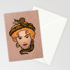 Snake Lady Stationery Cards