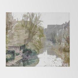 Brügge - Belgium Throw Blanket