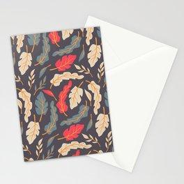 Vintage Floral Pattern 009 Stationery Cards