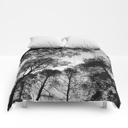 Forest View b/w Comforters