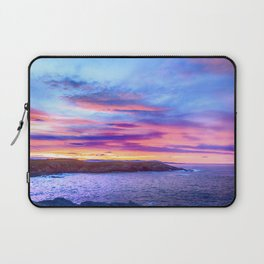 Biscay Bay sunset Laptop Sleeve