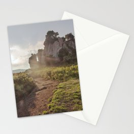 Megalith at sunset Stationery Cards