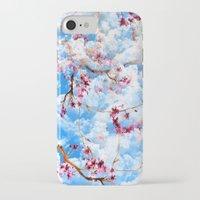 sakura iPhone & iPod Cases featuring SAKURA by sametsevincer