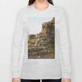 Dinas Bran Castle Ruins Long Sleeve T-shirt