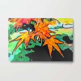 Autumn nature Metal Print