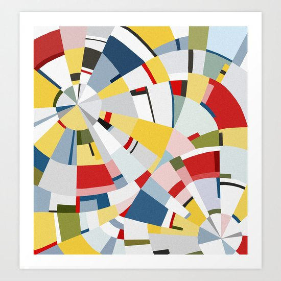 wheel of time Art Print