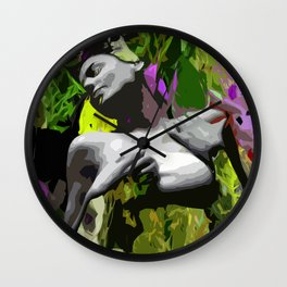 Wildfire Wall Clock