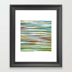 Abstract Water Reflection Framed Art Print