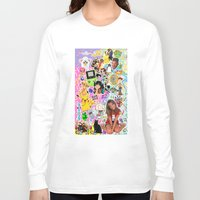 90s Long Sleeve T-shirts featuring 90s, childhood. by eriicms