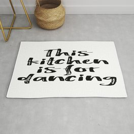 Kitchen Wall Art, Kitchen Poster, My Kitchen My Rules, Home Decor Rug