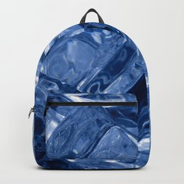 Ice cubes background Backpack