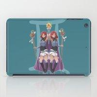 gemini iPad Cases featuring Gemini by Kumiko