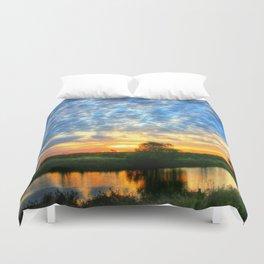 November East Texas Sunrise Duvet Cover