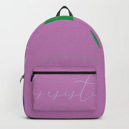 irresistible purple rose Backpack