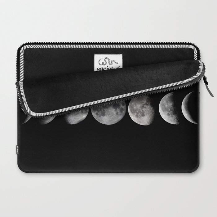 Phases of the Moon Laptop Sleeve