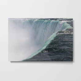 Falling For You | Niagara Falls | Canada Landscape Metal Print