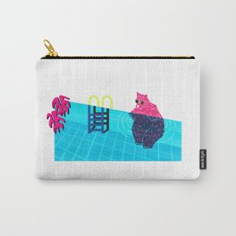 The Pink Bear Carry-All Pouch