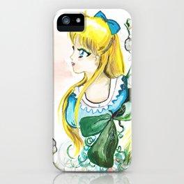 Sailor Venus White Flower iPhone Case