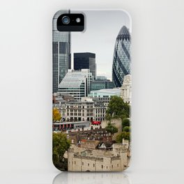 London ... city view I iPhone Case
