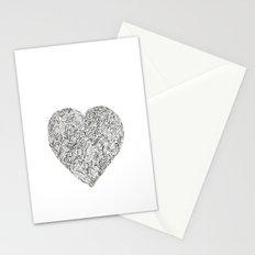 Heart I Stationery Cards