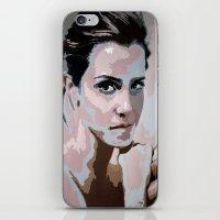 emma watson iPhone & iPod Skins featuring Emma Watson by Sensitive Derais